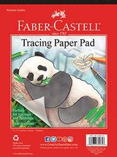 Load image into Gallery viewer, Faber-Castell Tracing Paper Pad - 40 Sheets (9 x 12 inches)