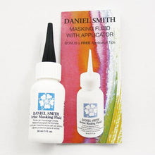 Load image into Gallery viewer, DANIEL SMITH 1oz Bottle with 5 Applicator Tips, Artist Masking Fluid, 284075001 , White