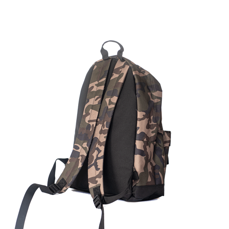 Fat Willy's Surf Shack Newquay backpack bag in army camo design
