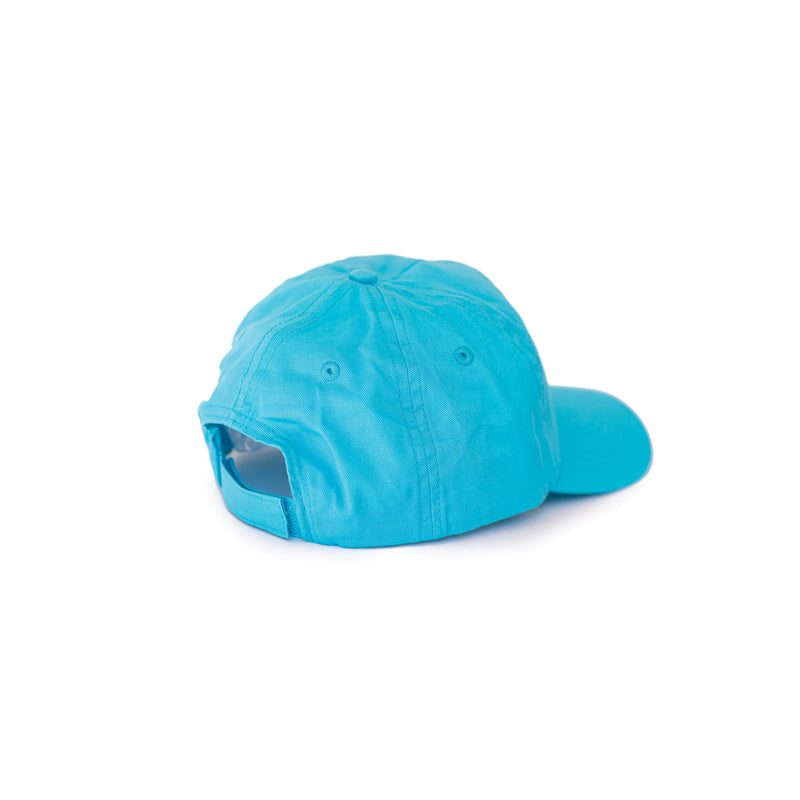 Fat Willy's Surf Shack Newquay cap peaked hat in turquoise blue