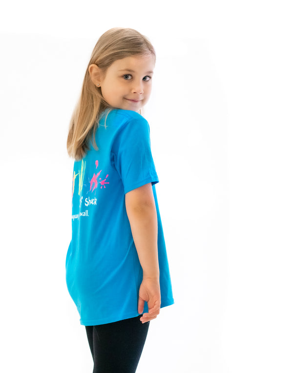 Fat Willy's Newquay Kids t-shirt in Sapphire Blue
