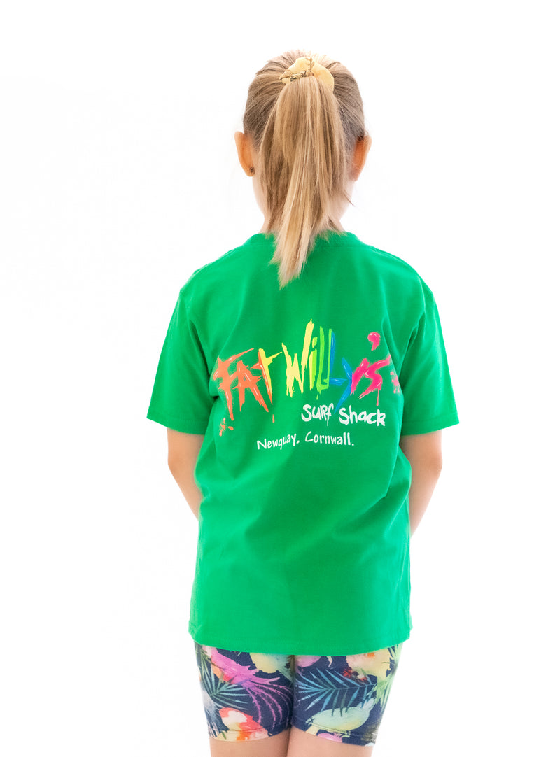 Fat Willy's Newquay Kids t-shirt in Green