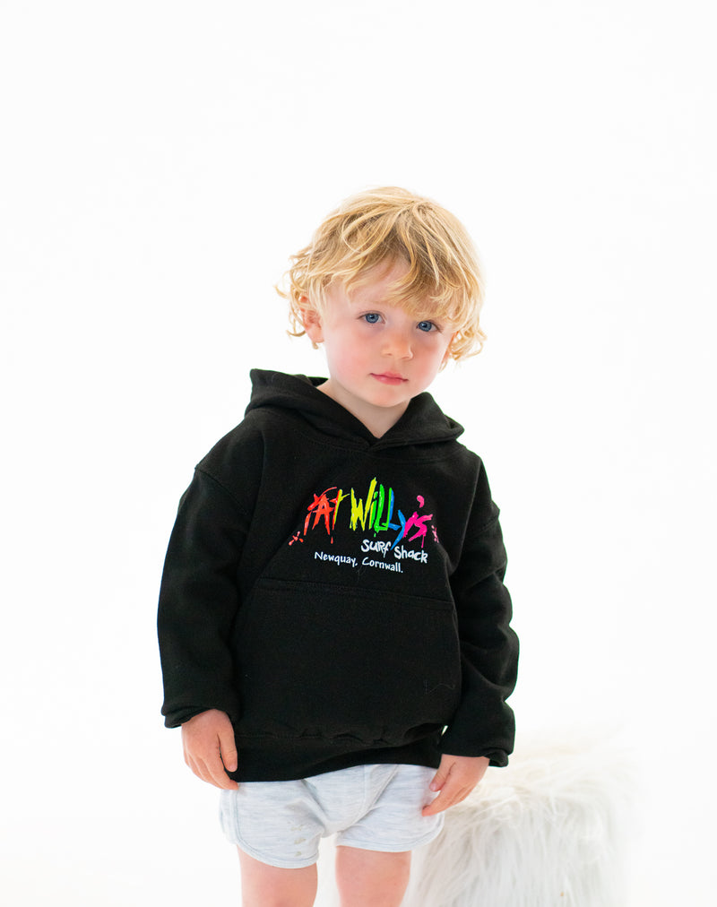 Fat Willys Surf Shack Newquay Twin Boys Hoodies Age 1-2 Years