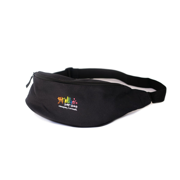 Fat Willy's Newquay bum bag in black