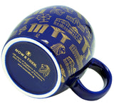 Blue Mug Motif Gold </br> *NEW*