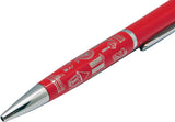Ballpen Starburst Red </br> *NEW*