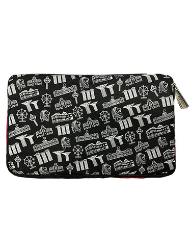Pouch Motif Black *NEW*