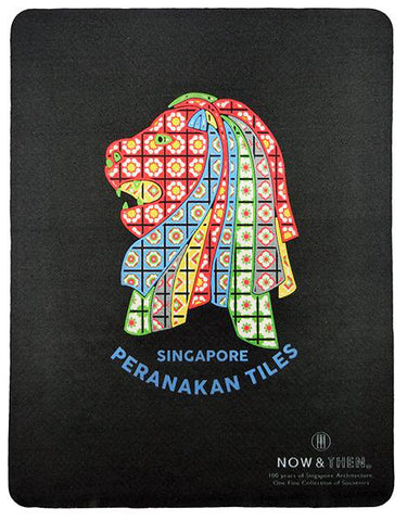 Mousepad 3-IN-1 Microfibre </br> Peranakan Black