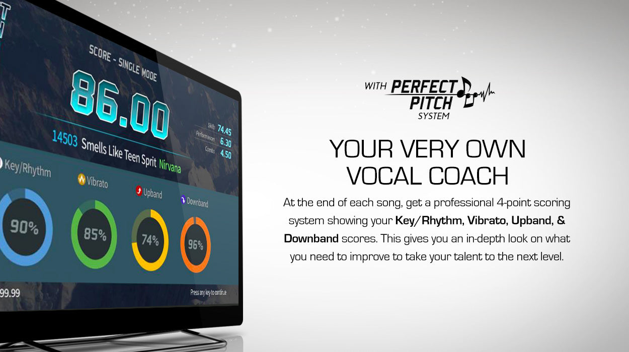 Perfect Pitch Very Own Vocal Coach