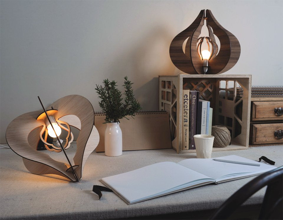 Green living - environmentally or Eco friendly light