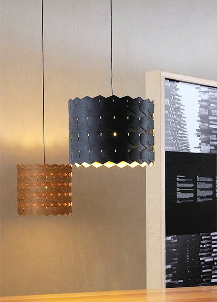 Eco friendly pendant light - Reggie 4 from Jasper and Eve