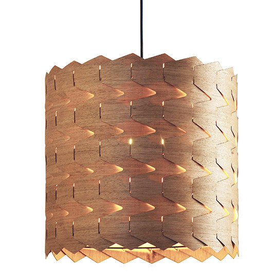 Reggie 3 - Natural Pendant Light - Sustainably Sourced from Jasper and Eve