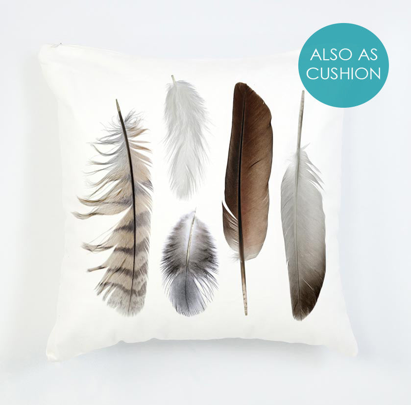 Feather pattern - beautiful cushion for the home