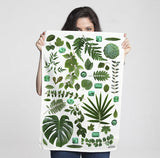 Tea towel for Summer in Tropical print