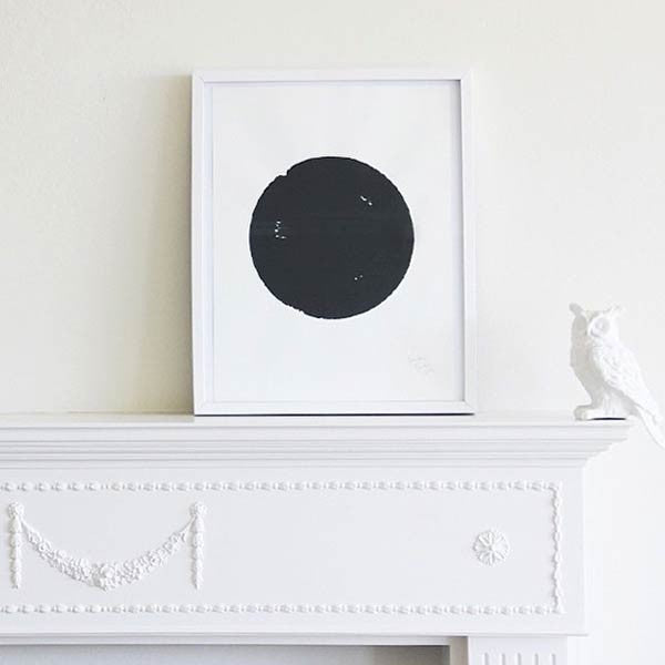 Art Print - Black Dot