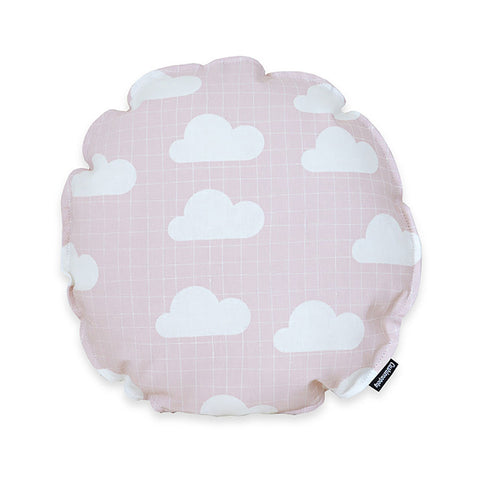 cloud cushion in pink