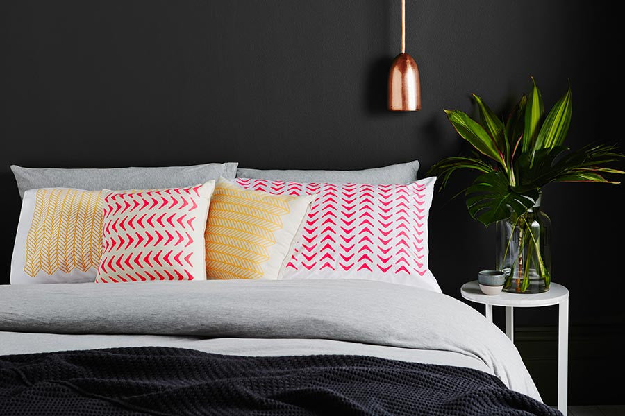 eco friendly pillow cases | image copywright protected