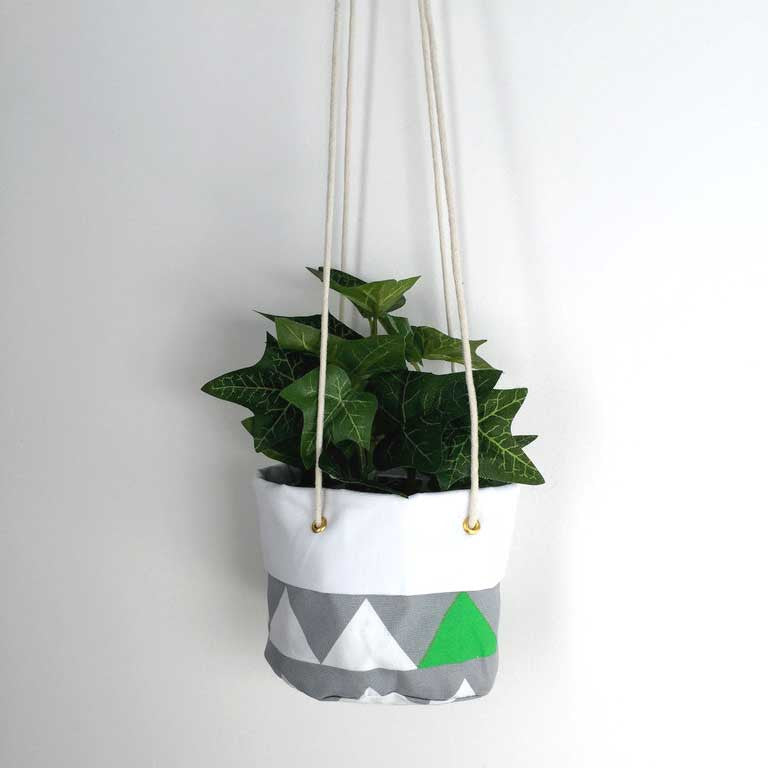 Hanging planter - Geometric