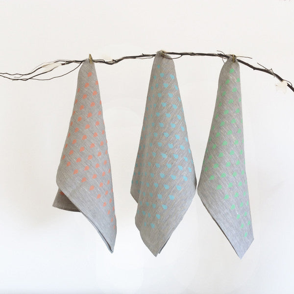 Pastel tea towels for Summer