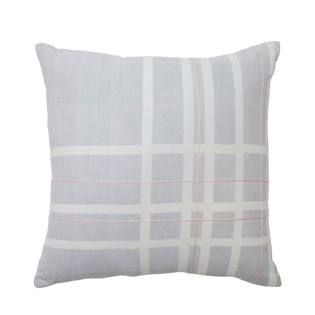 pink geometric cushion for spring