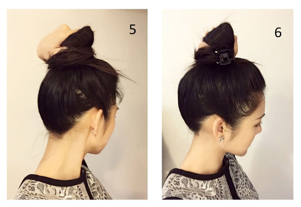easy undo for any occasion - hair tutorial