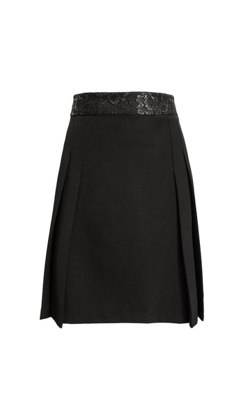 Ara black a-line skirt lace -product
