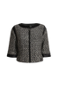 Victoria cropped sleeve tweed jacket