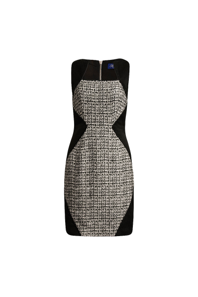 Brigitte tweed dress