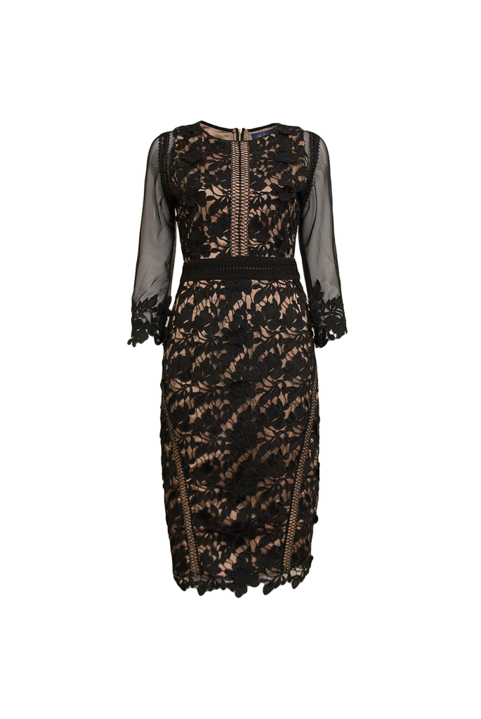 Juliette guipure lace dress