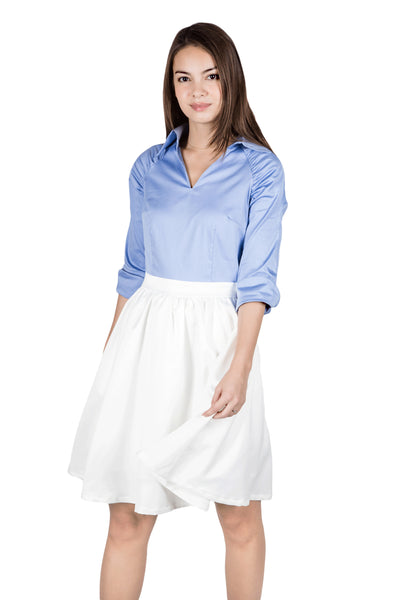 Alexis shirt-dress with pockets