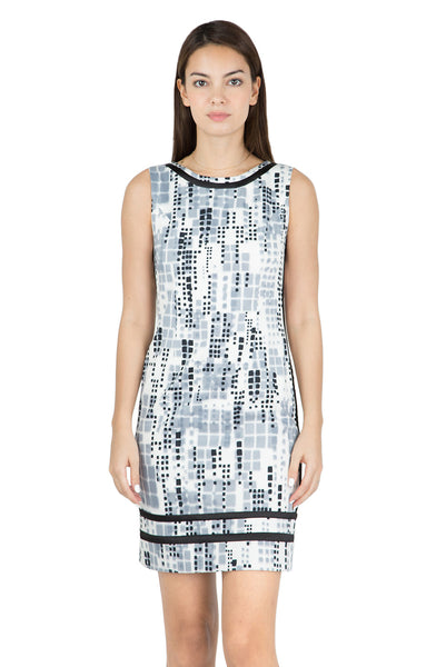 Elie printed shiftdress