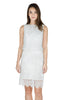 Tibi layered lace dress