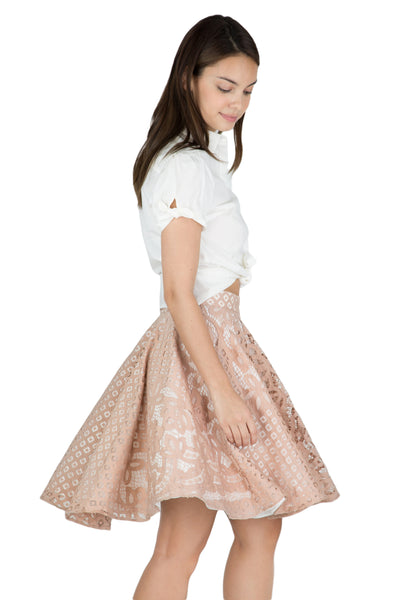 Anthea lace flare skirt