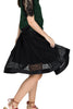 Kelly lace flare skirt with pockets