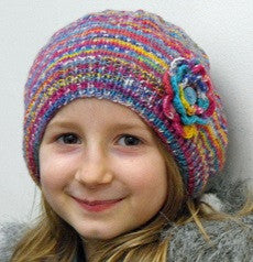 Opal 4 ply Child's/Ladies Beret Pattern