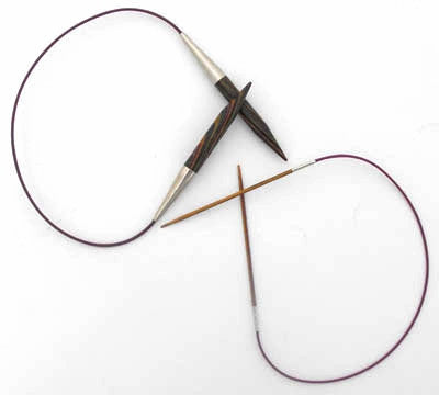 KnitPro Symfonie Wood Fixed Circular Needles (40.00cm)
