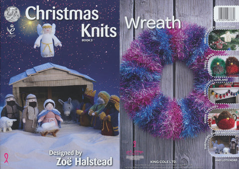 King Cole Christmas Knits Books 3