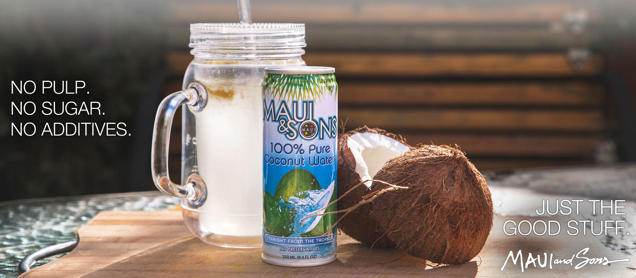 Maui and Sons Coconut Water