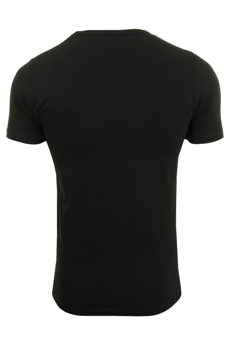 Jack & Jones Mens S/S Crew Neck T-Shirt - Slim Fit, 02, 12058529, #colour_Black