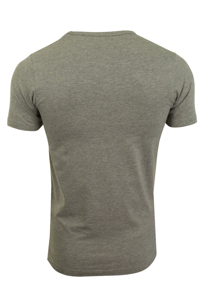 Jack & Jones Mens S/S Crew Neck T-Shirt - Slim Fit, 02, 12058529, #colour_Light Grey Melange