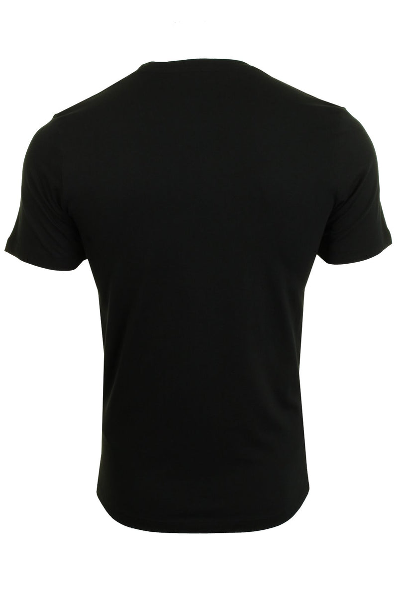 Jack & Jones Mens 'JJECORP' T-Shirt, 02, 12137126, #colour_Black