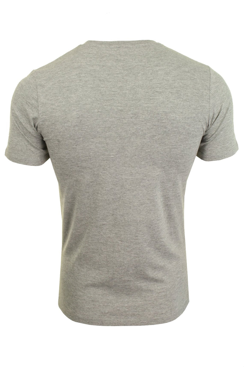 Jack & Jones Mens 'JJECORP' T-Shirt, 02, 12137126, #colour_Light Grey Melange