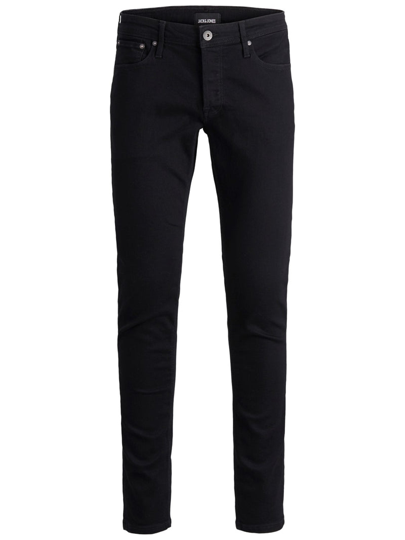 Jack & Jones 'Glenn' Slim Fit Jeans, 01, 12152346, #colour_Solid Black Denim