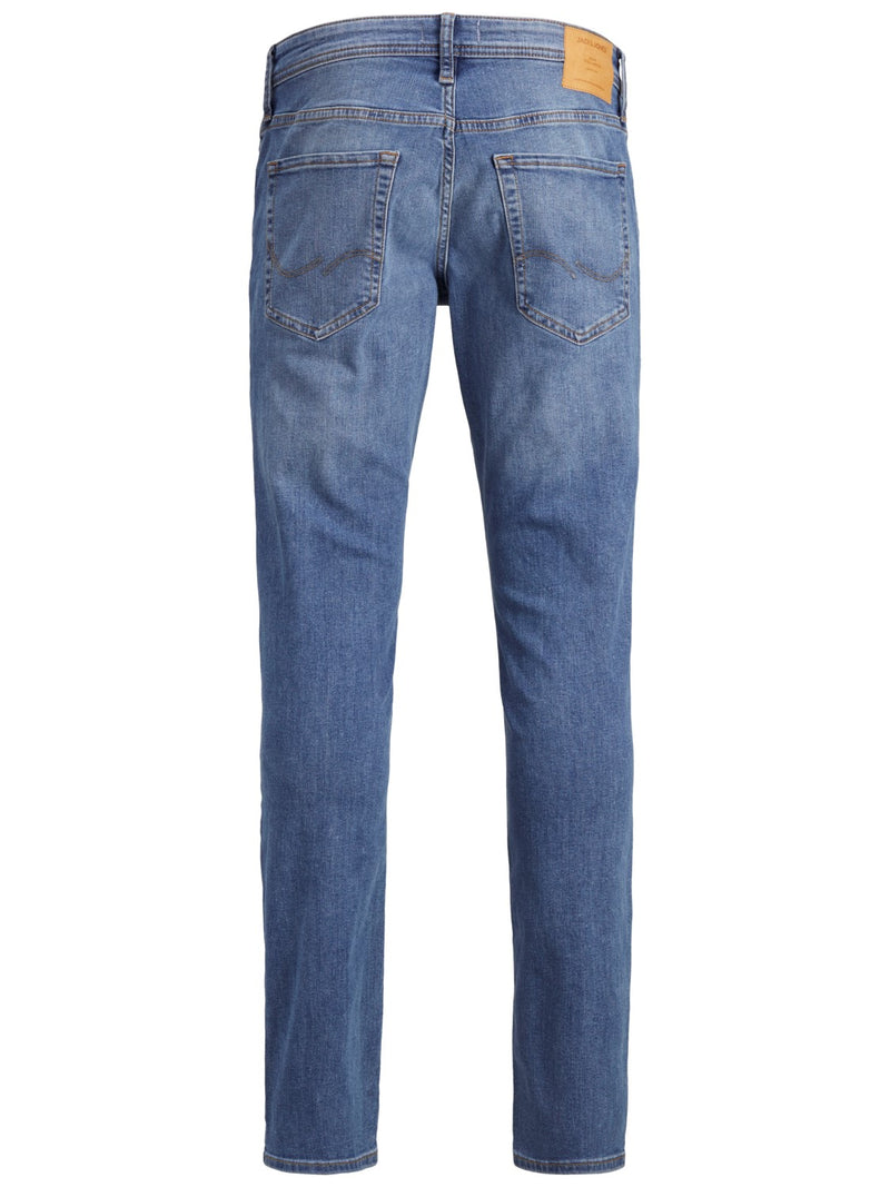 Jack & Jones 'Glenn' Slim Fit Jeans, 02, 12152346, #colour_Lt Blue Denim