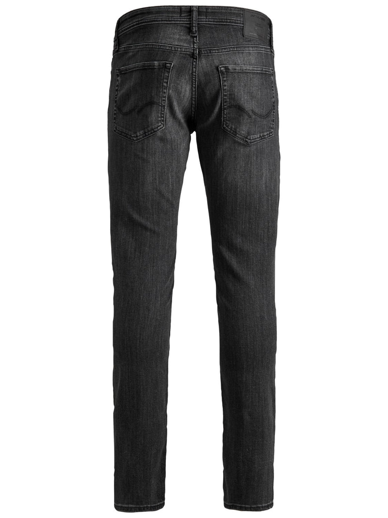 Jack & Jones 'Glenn' Slim Fit Jeans, 02, 12152346, #colour_Black Wash Denim