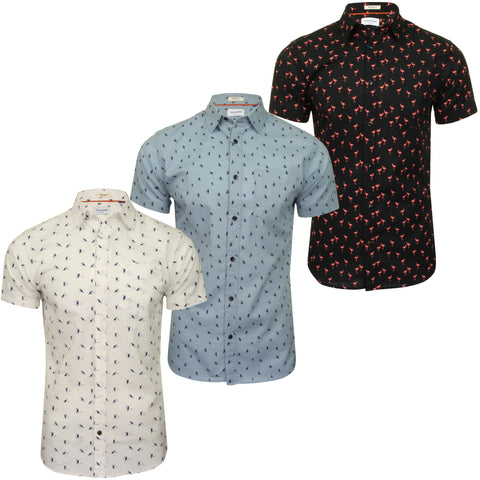 Jack & Jones Mens 'rhex' Shirt Short Sleeved-Main Image
