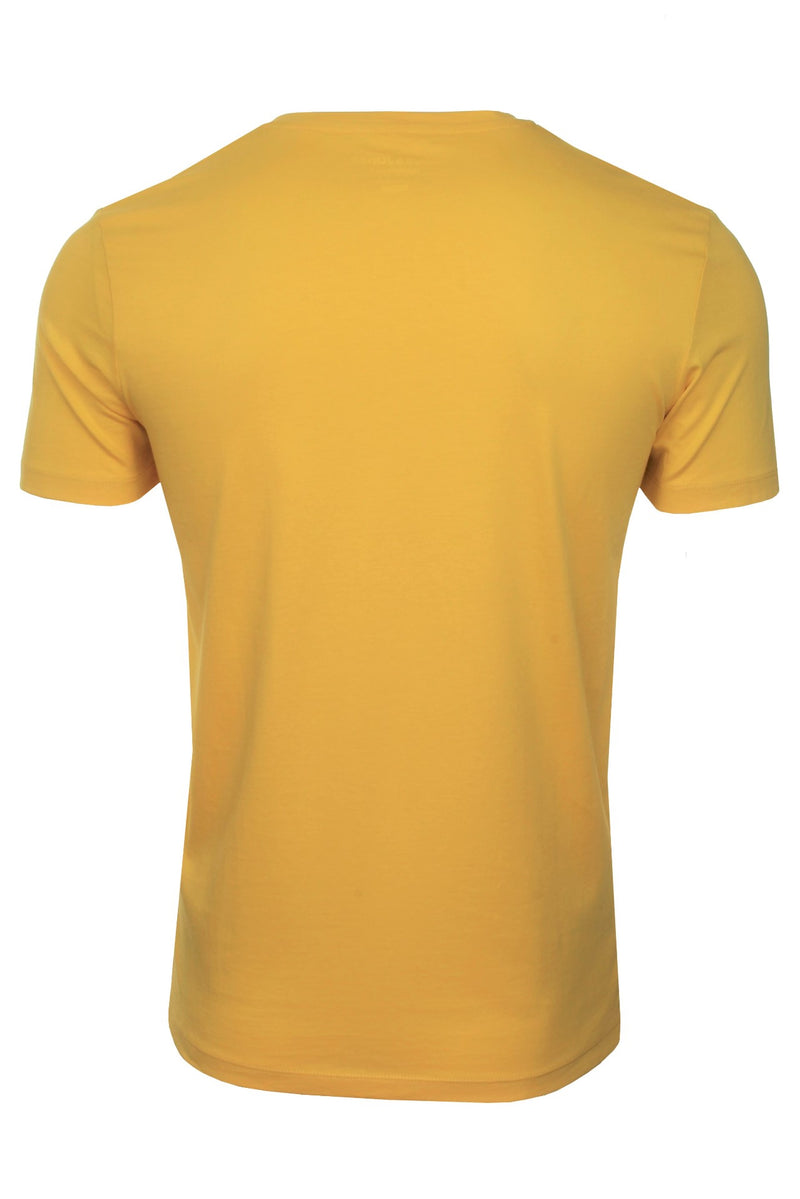 Mens Jack & Jones 'CLAYTON' T-Shirt, 03, 12177506, #colour_Spicy Mustard