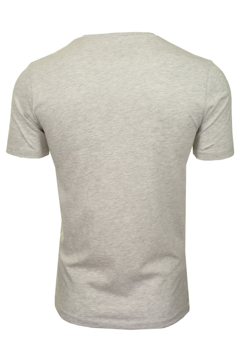 Jack & Jones 'Booster' T-Shirt - Short Sleeved, 02, 12183181, #colour_Light Grey Melange