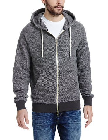 Mens Hoodie by Bench 'Constitute'-Main Image