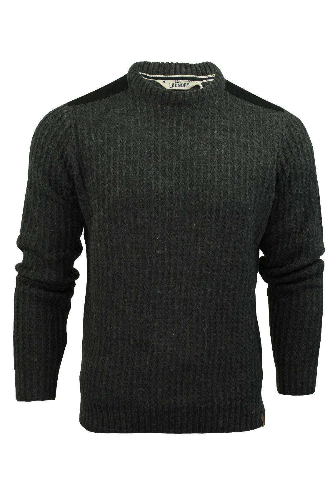 Mens Jumper by Tokyo Laundry 'Brockville' Crew Neck-Main Image
